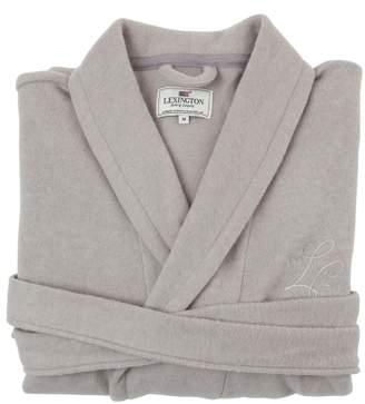 Lexington Vendela Cotton-cashmere Robe L