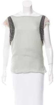 Stella McCartney Silk Embellished Top