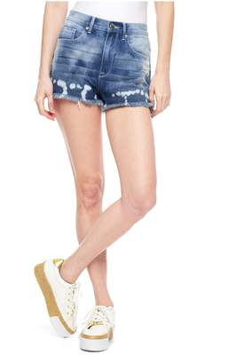 Juicy Couture Bleached Blonde Fray Short
