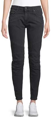 Pierre Balmain Women's Paneled Skinny Jeans - Grey, Size 29 (6-8)