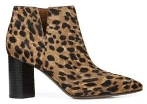 Franco Sarto Nest Leopard Calf Hair Booties