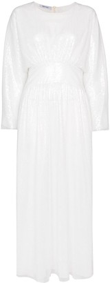 Deitas Hermine sequin-embellished midi dress