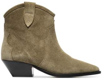 Isabel Marant taupe Dewina 40 suede ankle boots