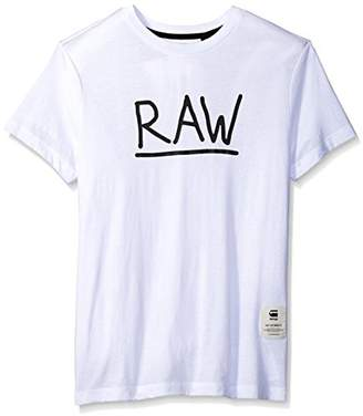 G Star Men's Manes Short Sleeve Logo T-shirt