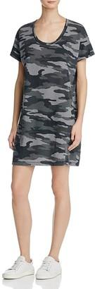 Current/Elliott Slouchy Scoop Neck Camo Dress $138 thestylecure.com