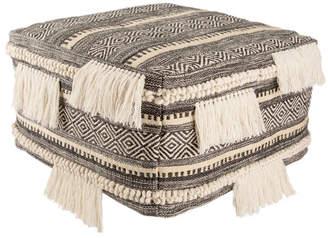Jaipur Living Nikki Chu By Bahri Dark Gray/Ivory Tribal Dimensions Measures