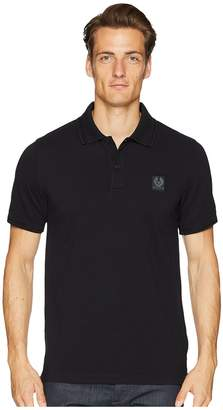 Belstaff Stannet Cotton Pique Polo Shirt Men's Clothing
