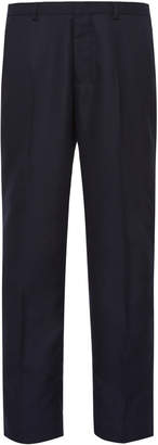 Ami Straight-Leg Wool Dress Pants
