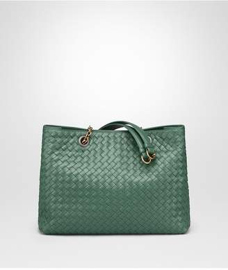 Bottega Veneta Thyme Intrecciato Nappa Medium Tote Bag