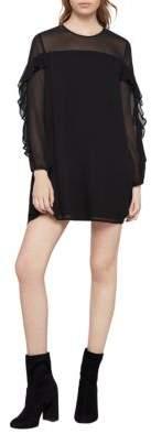 BCBGeneration Ruffled A-Line Dress