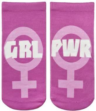 LIVING ROYAL - Girl Power Ankle Socks