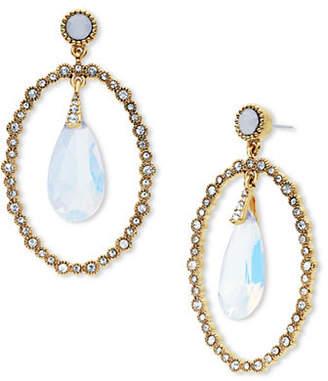 Jenny Packham Orbital Stone Drop Earrings