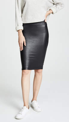 on feet at top-rated authentic more photos Faux Leather Pencil Skirt - ShopStyle
