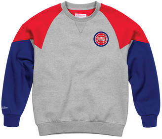 Mitchell   Ness Men Detroit Pistons Trading Block Crew Sweatshirt 9107d1bd5