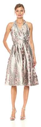 Chetta B Women's Floral Brocade Party Dress
