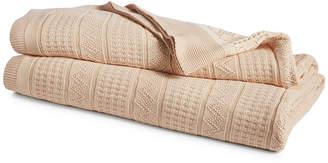 Lauren Ralph Lauren Closeout! Ultra Soft 100% Cotton Zig Zag Twin Blanket Bedding