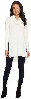 Karen Kane Cowl Neck Side Split Sweater Women's Sweater