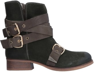 Manila Grace DENIM Ankle boots
