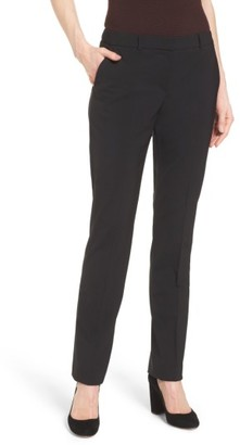 Women's Boss Titana Stretch Wool Suit Trousers $255 thestylecure.com