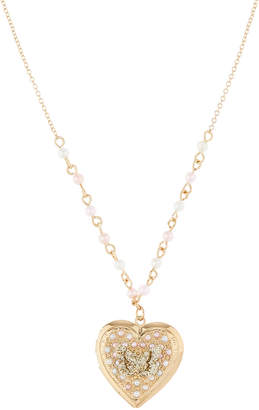 Monsoon Butterfly Treats Locket Necklace