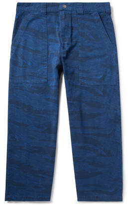 Billy Printed Denim Trousers