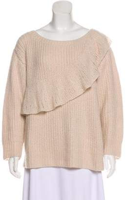 Roche Ryan Lace-Trimmed Cashmere Sweater 1788b50b8