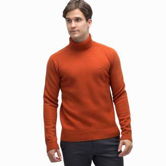 Lacoste (ラコステ) - ウールタートルネックセーター