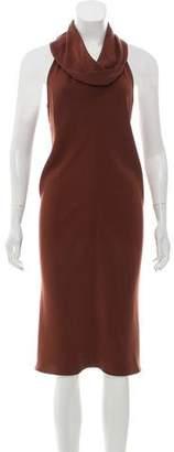 Salvatore Ferragamo Sleeveless Midi Dress
