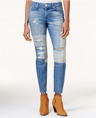Joe's The Icon Ripped Joon Wash Two-Tone Jeans $225 thestylecure.com