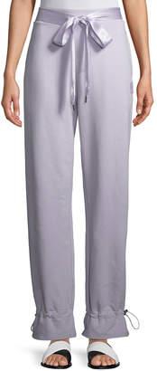 FENTY PUMA by Rihanna Gathered-Ankle Ribbon-Tie Sweatpants, Thistle