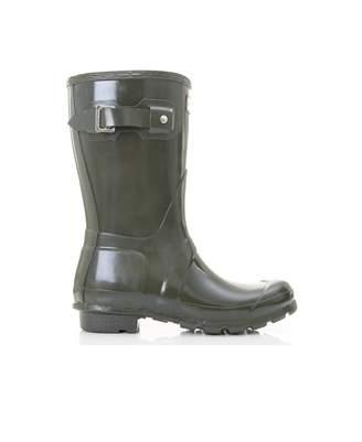 Hunter Short Gloss Welly Boots
