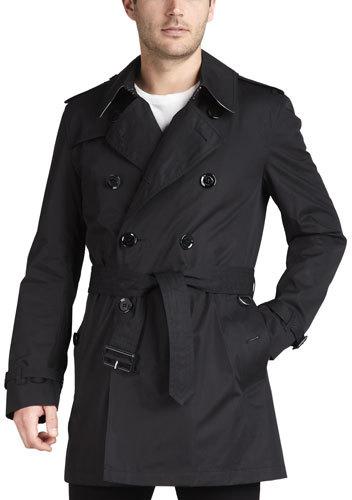Burberry Short Cotton Trenchcoat