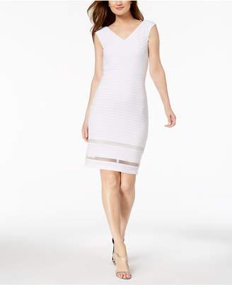 Calvin Klein Illusion Bandage Dress