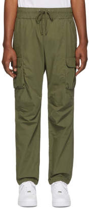 John Elliott Green Military Cargo Pants
