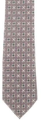 Prada Printed Silk Tie