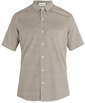 Thorsun - Printed Cotton Shirt - Mens - Brown Multi