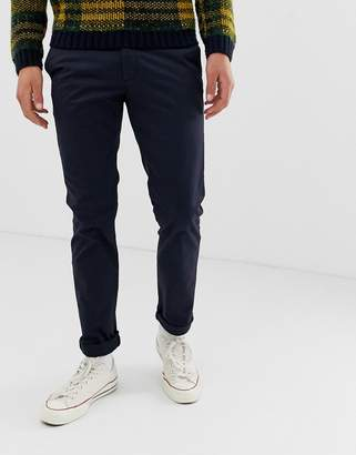 Ted Baker slim fit chino in navy