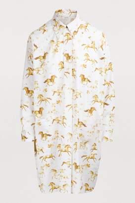 Ganni Weston shirt dress
