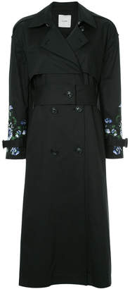 CLANE double-breasted fitted coat