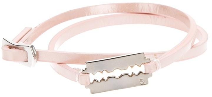 McQ thin razor bracelet