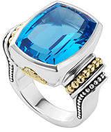 Lagos Caviar Color Ring, Size 7