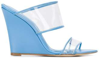 Paris Texas wedge heel sandals
