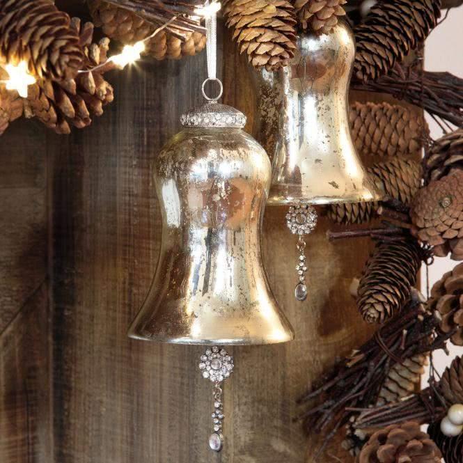 LOBERON Weihnachtsschmuck 2er-Set Manon