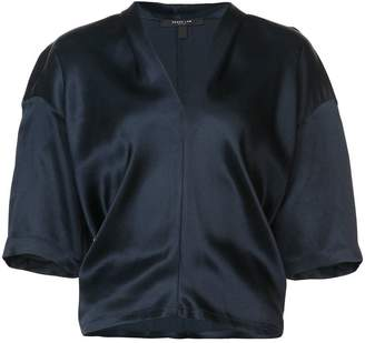 Derek Lam Boxy V-Neck Pullover