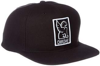 Chrome (クローム) - [クローム] ポーチ SNAPBACK CAP AP138BKWT BKWT BLACK/WHITE