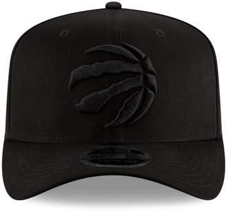 New Era Toronto Raptors NBA Blackout Stretch Snapback Cap