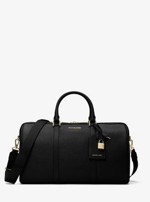 MICHAEL Michael Kors Jet Set Travel Large Leather Weekender