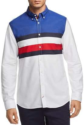 Tommy Hilfiger Global Stripe Regular Fit Button-Down Shirt