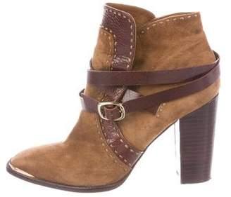 Rachel Zoe Suede Ankle Boots