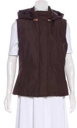 Loro Piana Hooded Puffer Vest